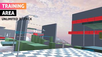 Parkour run simulator 3d: bunny hop, backflip go