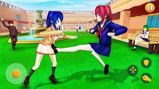 YUMI High School Simulator: Anime Girl Games  screenshots 10