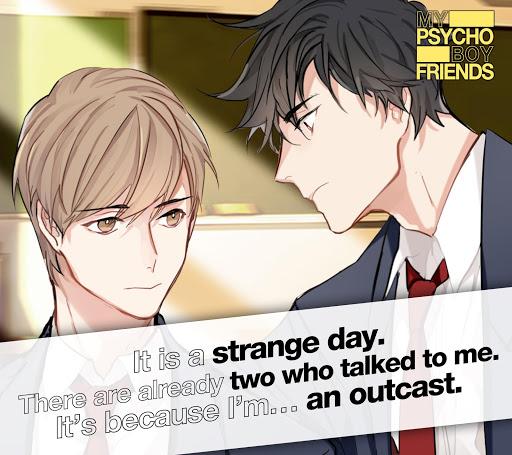 Code Triche Psycho Boyfriend - Jeu Otome (Astuce) APK MOD screenshots 3