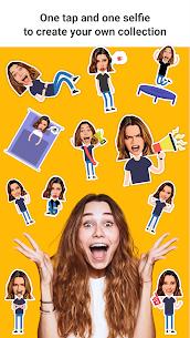Emolfi Keyboard: selfie stickers for messengers 3