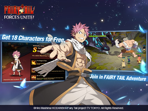 FAIRY TAIL: Forces Unite! android2mod screenshots 12