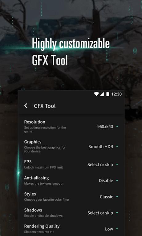 Panda Game Booster & GFX Tool for Battleground  poster 1