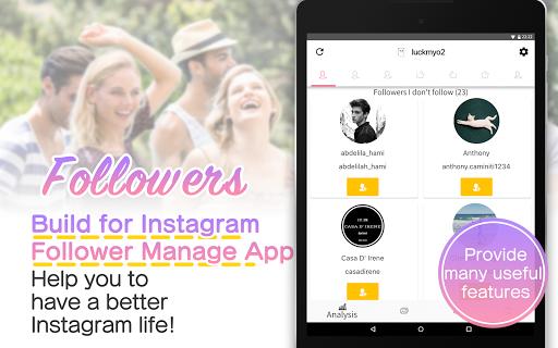 Followers & Unfollowers for Instagram screenshots 8