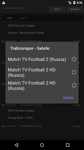 Sport Schedule 1.03 Screenshots 3