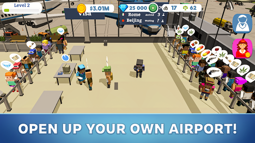 Idle Customs: Protect Airport 1.01.190 screenshots 1