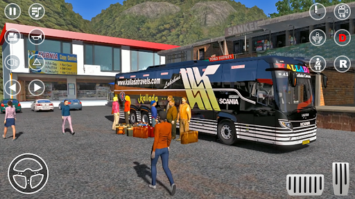 Public Coach Bus Transport Parking Mania 2020 screenshots 2