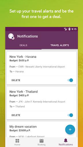 TravelPirates Top Travel Deals 3.2.6 Screenshots 2