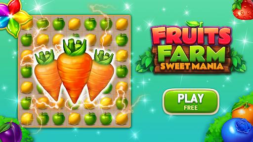 Fruits Farm: Sweet Match 3 games 1.1.0 screenshots 2