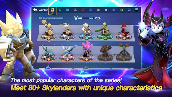 Skylanders™ Ring of Heroes Screenshot