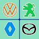 Teste do logotipo do carro: Adivinhe a marca. Jogo para PC Windows