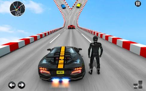Free Crazy Ramp Car Stunts :Mega Ramp Stunt Games 4