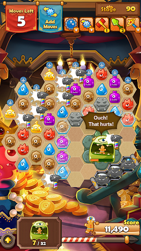 Monster Busters: Hexa Blast  screenshots 13