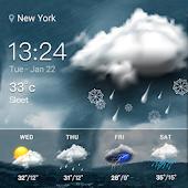 icono Widget de pronóstico del tiempo
