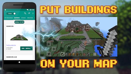 Buildings for Minecraft MOD (Premium/Unlocked) 1