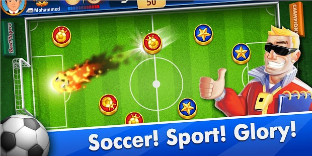 Fans of Soccer: Online Football Disc Challenge Screenshot