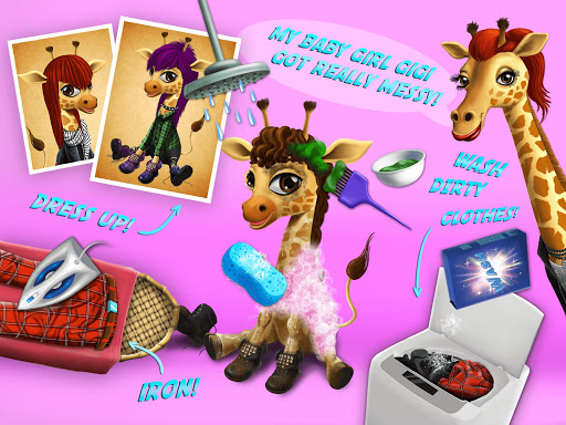 Baby Jungle Animal Hair Salon - Pet Style Makeover 4.0.10005 Screenshots 13