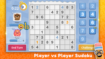 Sudoku Scramble - Head to Head Puzzle Game