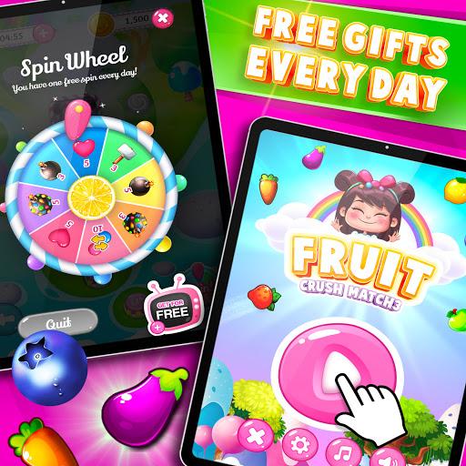 Fruit Crush : Fruit Candy Blast - Match Puzzle  screenshots 10