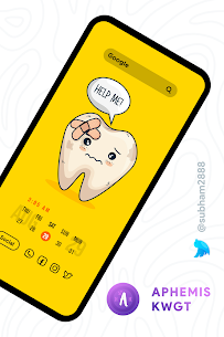 Aphemis KWGT Apk [PAID] for Android 5
