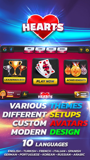 Hearts 2.0.4 screenshots 10