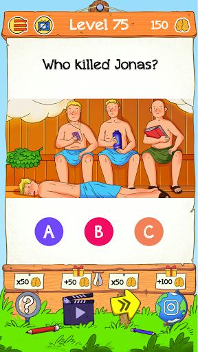 Braindom 2: Who is Lying? Fun Brain Teaser Riddles goodtube screenshots 6