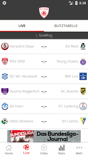 2. liga screenshot 2