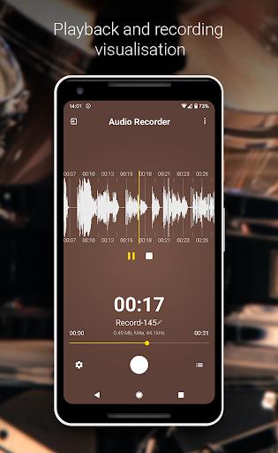 Audio Recorder (no ads) screenshots 3