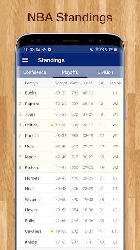 Basketball NBA Live Scores, Stats, & Schedules 9.2.1 Screenshots 8