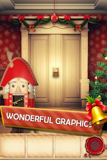 100 Doors Seasons: Christmas Games. New Year 2021 apkslow screenshots 10