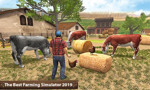 Organic Tractor Farming SIM: Mega Harvesting  screenshots 1