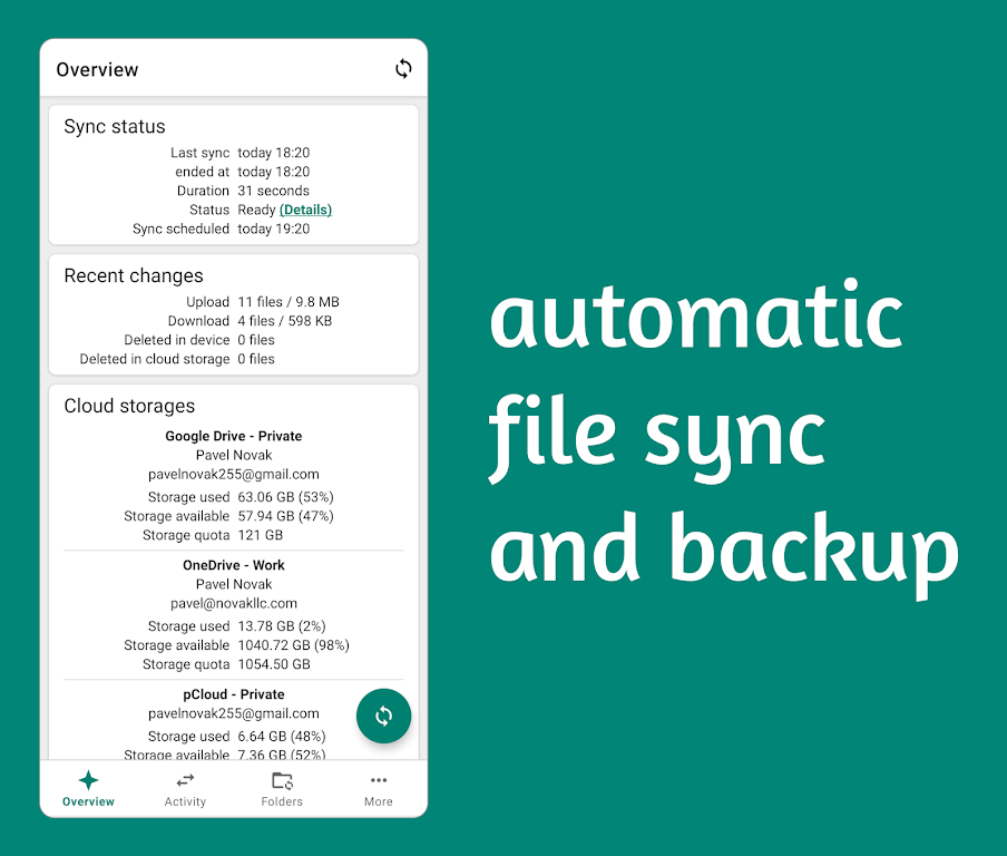 Autosync - File Sync & Backup poster 0