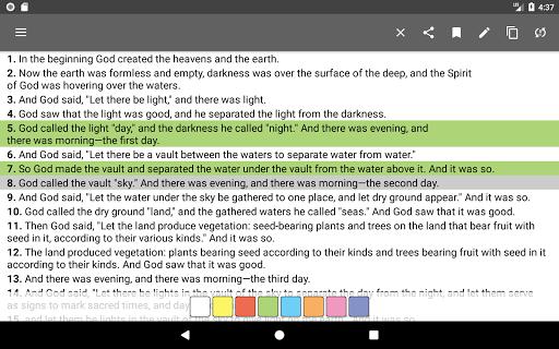Bible Offline App Free + Audio, KJV, Daily Verse 8.5.4 Screenshots 19