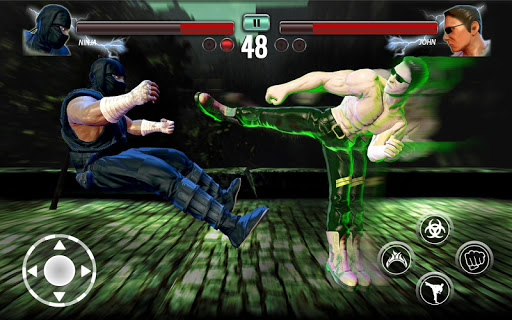 Ninja Games Fighting - Combat Kung Fu Karate Fight apkpoly screenshots 2