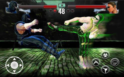Ninja Games Fighting - Combat Kung Fu Karate Fight 72 screenshots 2