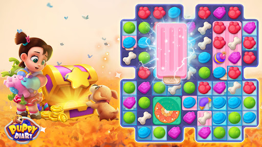 Puppy Diary: Popular Epic match 3 Casual Game 2021 1.0.7 screenshots 4