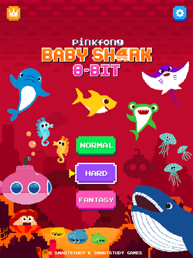 Baby Shark 8BIT : Finding Friends 2.4 screenshots 15