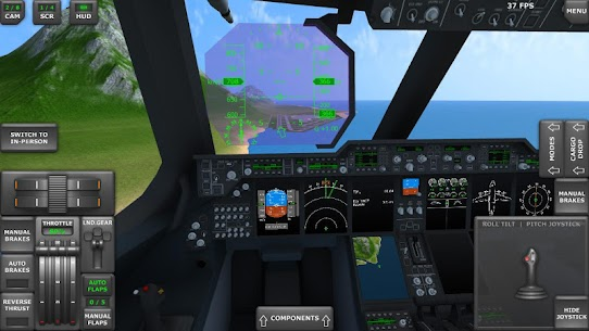 Turboprop Flight Simulator 3D MOD APK 1.26.2 (Unlimited Money) 3