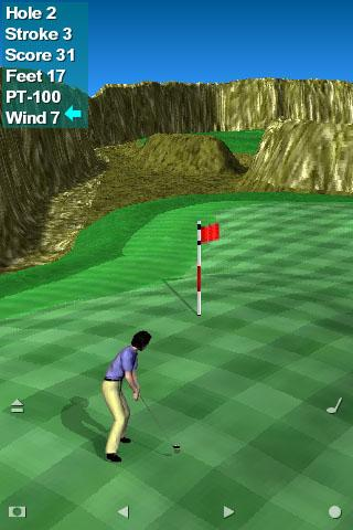 Par 3 Golf II Lite apkpoly screenshots 1