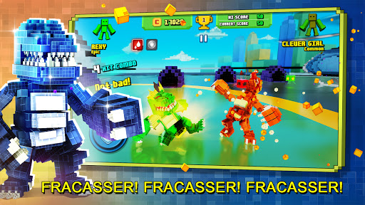 Télécharger Gratuit Super Pixel Heroes 2021 mod apk screenshots 4