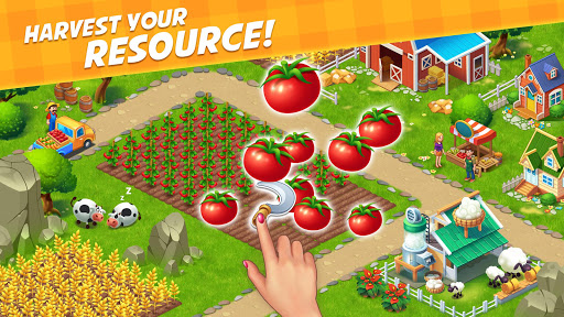 Farm City : Farming & City Building apkpoly screenshots 9