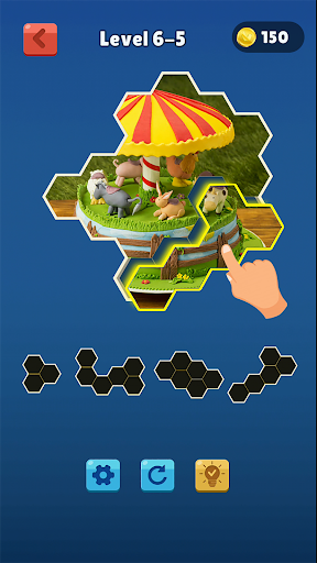 hexa jigsaw collection hd screenshot 2