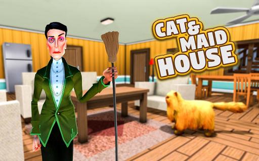 CAT & MAID: VIRTUAL CAT SIMULATOR KITTEN GAME screenshots 4