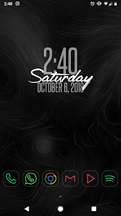 A Better Clock Widget Screenshot