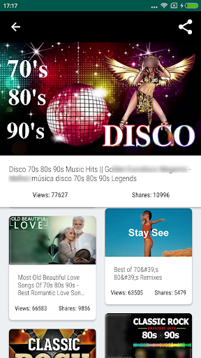 70s 80s 90s Music player & Oldies Songs  screenshots 2