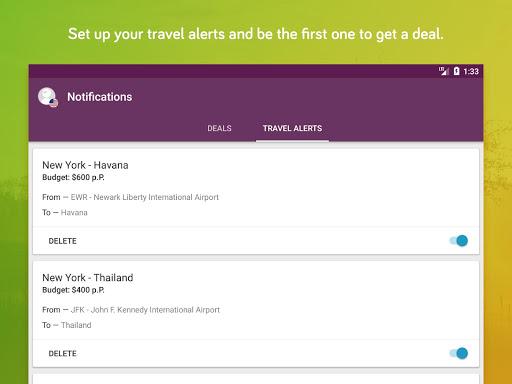 TravelPirates Top Travel Deals 3.2.6 Screenshots 7