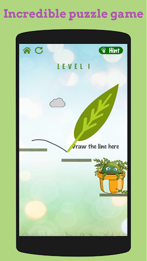 flower rescue: great physics-based puzzle game screenshot 2