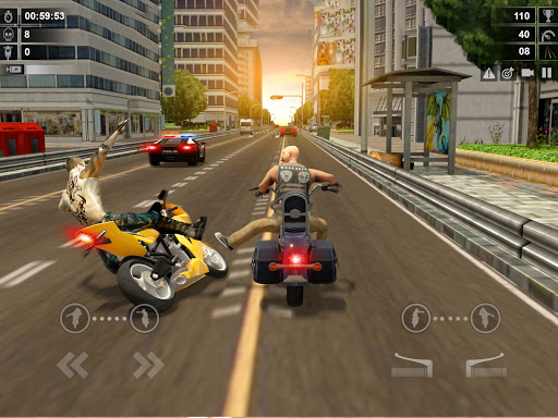 Traffic Racer: Dirt Bike Games apkdebit screenshots 7