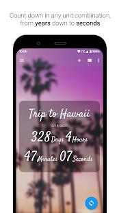 Time Until   Beautiful Countdown App + Widget 3.3.0 Screenshots 2