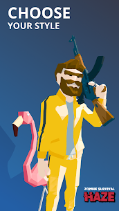 Zombie Survival: HAZE (alpha) MOD APK 0.13.124 (Paid Unlocked, No Ads) 13