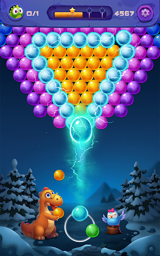 Bubble Shooter: Primitive Dinosaurs - Egg Shoot 1.04 screenshots 4